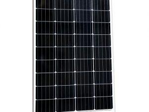 100W mono aluminium frame